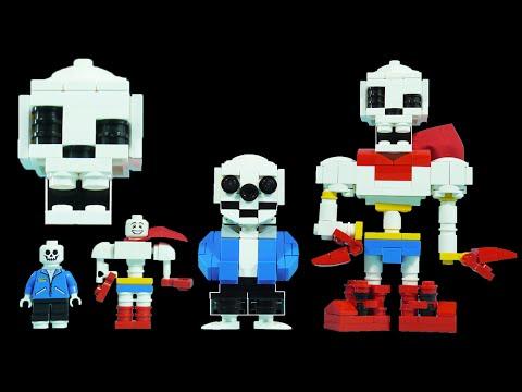How To Build LEGO Undertale Sans & Papyrus