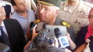 اللواء كامل الوزير يهنأ الشعب المصرى  بقناة السويس الجديدة  الجيش هو الشعب