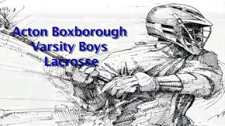 Acton Boxborough Varsity Boys Lacrosse @ Lincoln Sudbury 6/12/18