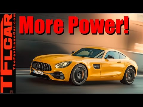 2018 Mercedes-AMG GT: All About the GT S and the GT C