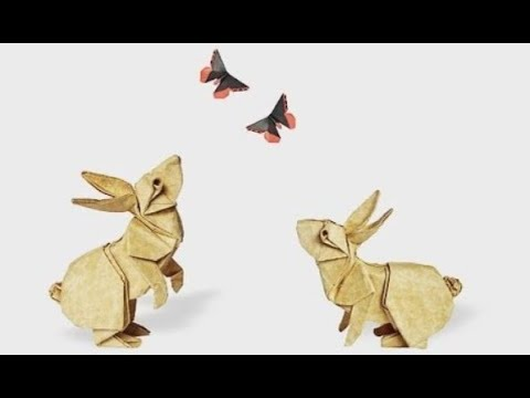 Origami rabbit by Ronald Koh
