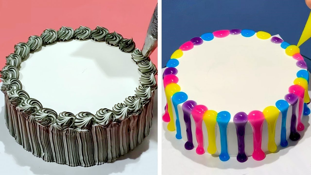 Favorite Cake Decorating Ideas | Simple Cake Decorating Tutorials for Girls | Beautiful Cake Design