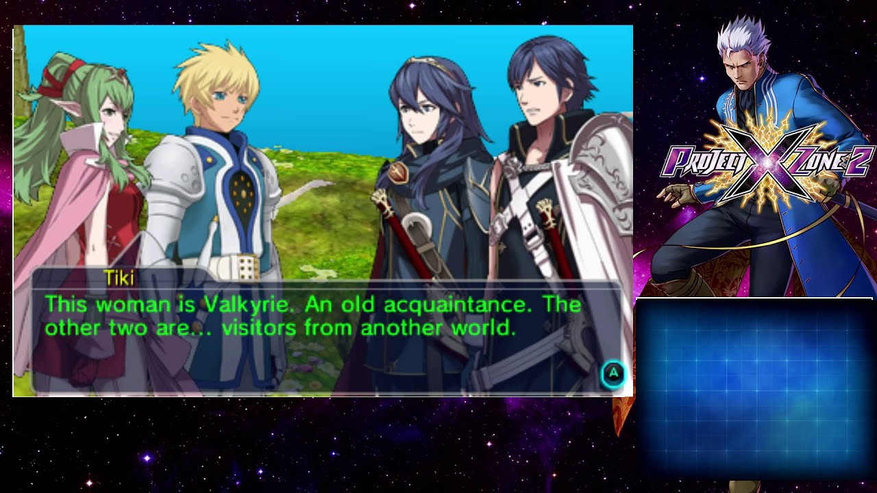 Project X Zone 2 Eng Prologue 5 Youtube