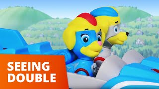 PAW Patrol  Seeing Double  Mighty Pups Toy Episode  PAW Patrol Official amp Friends