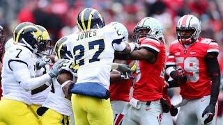 Michigan vs Ohio State Fights