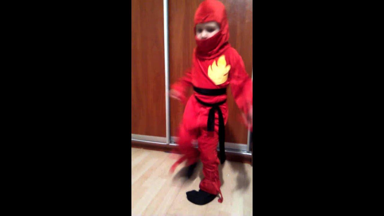 Как сшить костюм ниндзяго фото