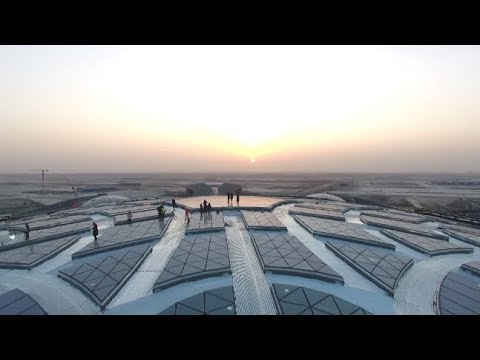 Construction Starts on Smart Brain of Beijing's New Airport