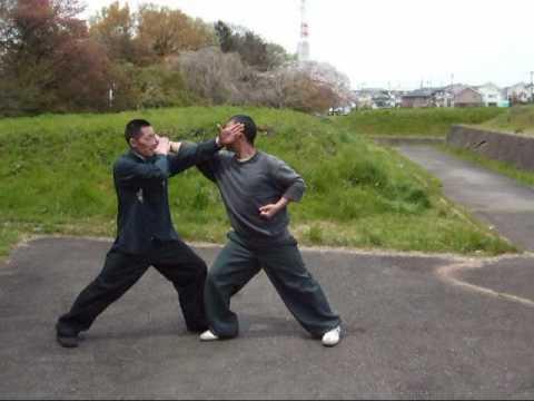 中国拳法(対練①〈螳螂拳〉)
