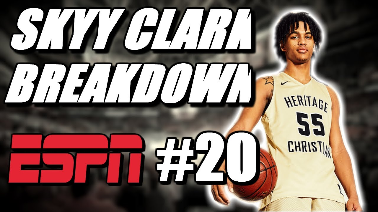 Is Skyy Clark The Most SKILLED Point Guard In 2022?! | (Breakdown Vol.1)