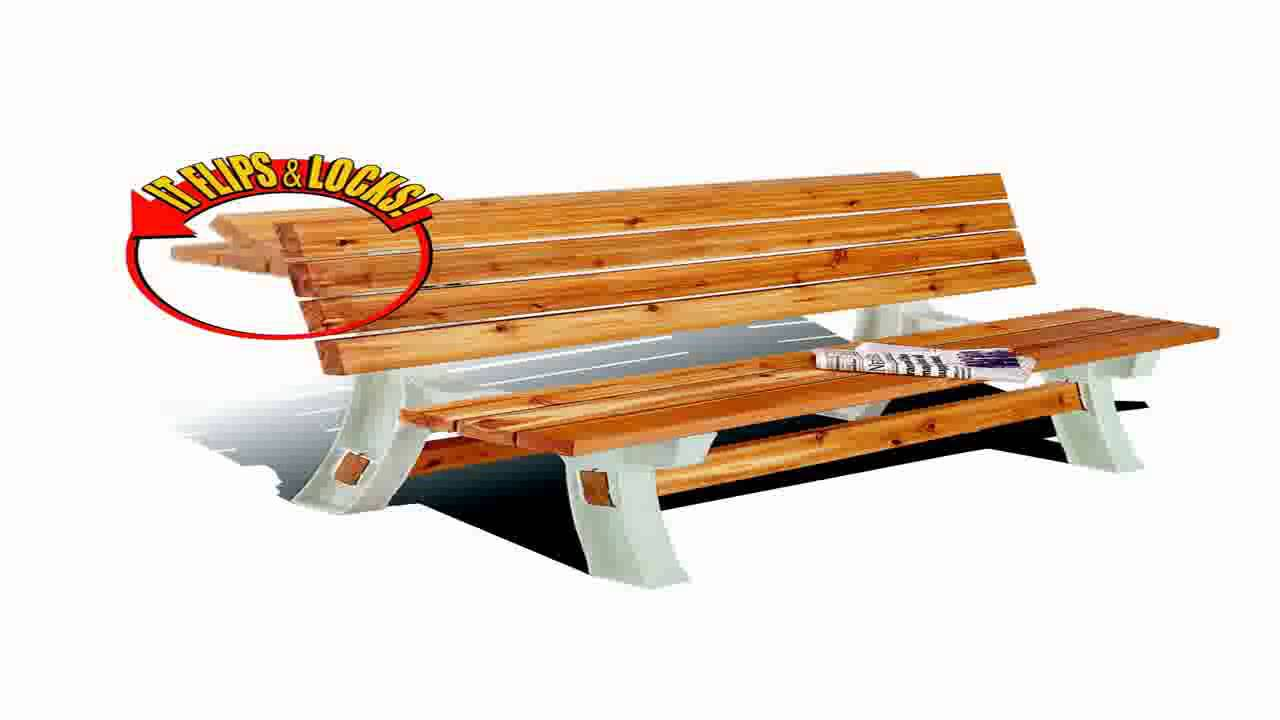 Hopkins ONLMI Xbasics Picnic Table Kit Sand Frames Only YouTube - Picnic table bracket kit