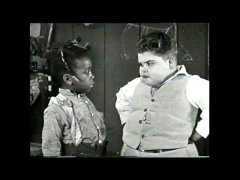 Our Gang (Little Rascals) - Baby Brother 1927 (silent)(cameo By Oliver Hardy)
