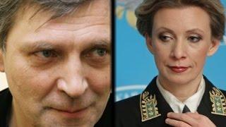 НЕВЗОРОВ грубо опустил Марию Захарову