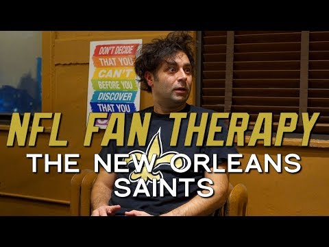 NFL FAN THERAPY: The New Orleans Saints - YouTube