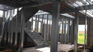 видео строим сами каркасный дом