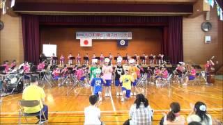 第30回大口町障がい者スポーツ丹羽高校吹奏楽部演奏2014 6 14