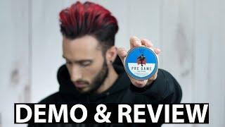 PRE GAME by TheSalonGuy | Game Changing Matte Paste | DEMO & REVIEW
