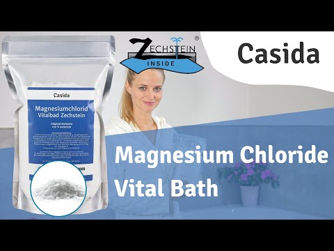Magnesium Chloride Vital Bath Of Casida With Natural Zechstein
