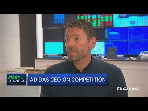 Adidas CEO on business in North America, tariffs and Kanye West