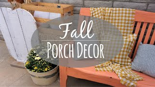 Fall Porch Decorate With Me
