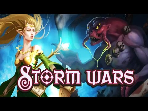 Storm Wars CCG Android Gameplay ᴴᴰ