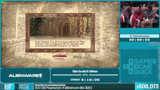 Elder Scrolls IV: Oblivion (OOB) by TheFunCannon in 6:27 - Summer Games Done Quick 2015 - Part 130