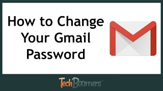 How to Change Your Gmail Password