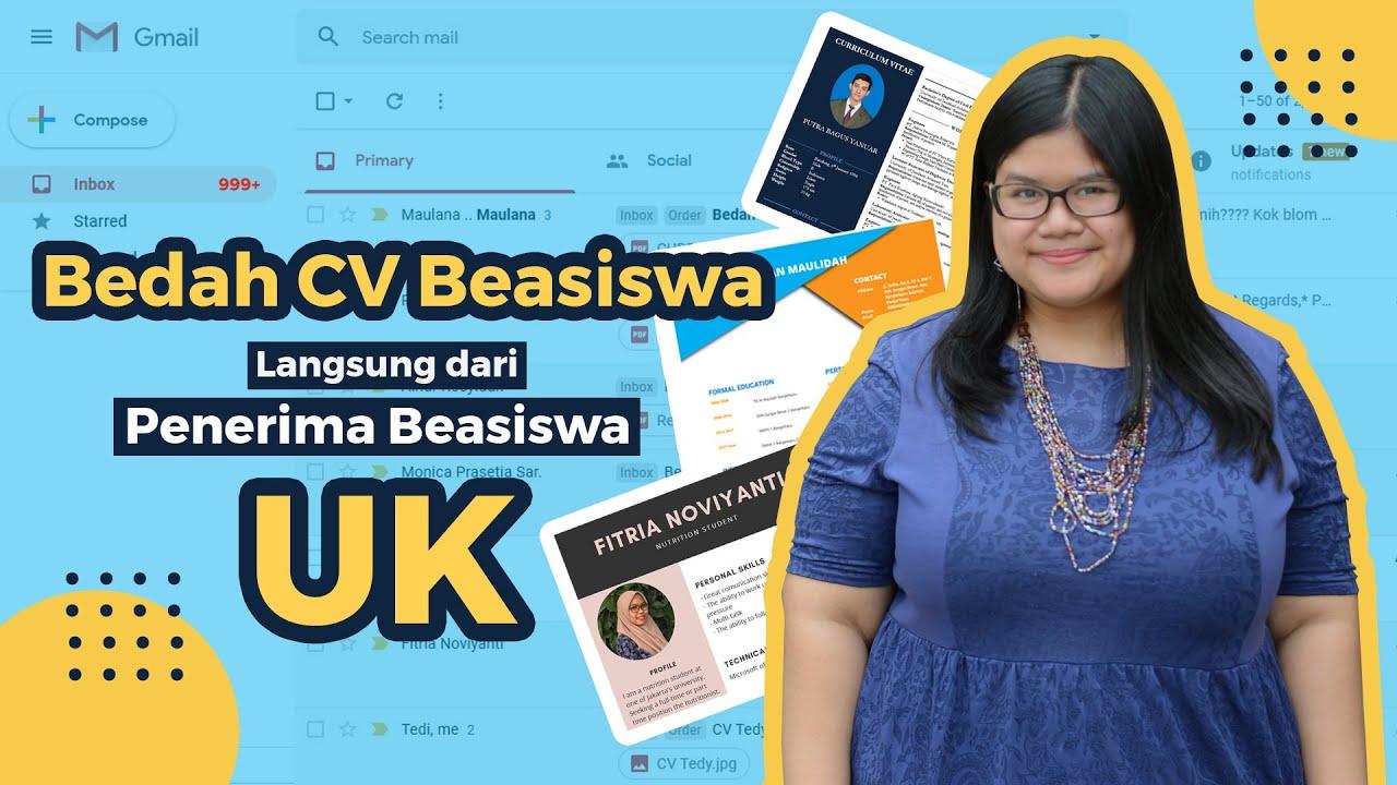 Bedah Cv Beasiswa Langsung Dari Penerima Beasiswa Erasmus Mundus Youtube