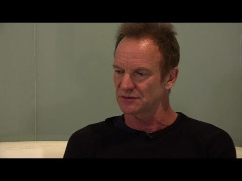 Sting returns to rock