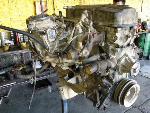 Rebuild Engine Nissan KA24S 2.4 Lts. 12 V. Ajuste de motor
