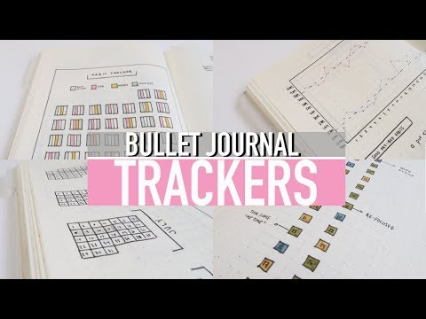 8 BULLET JOURNAL TRACKER IDEAS: Habits + Spending & Sleep Log