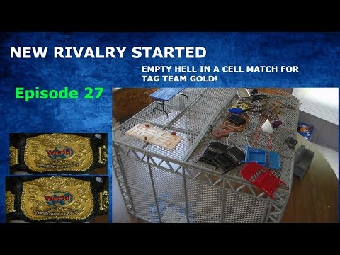 WWTE INDY SERIES EPISODE 27 EMPTY HELL IN A CELL FOR TAG TEAM GOLD! NEW RIVALRY