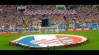 Хорватия - Англия со стадиона!