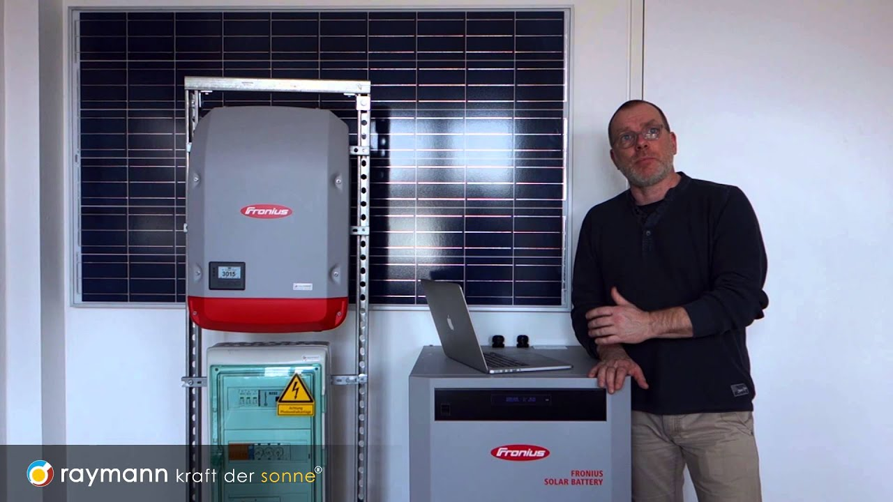 fronius symo hybrid solar battery youtube. Black Bedroom Furniture Sets. Home Design Ideas