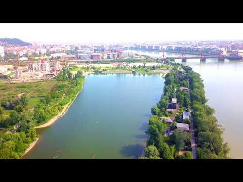 I love Budapest  :  Kopaszi gát          4K