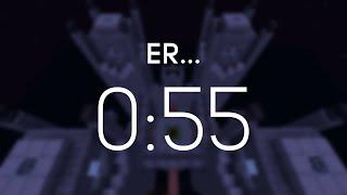 Minecraft Speedrun: Er… (00:00:55:553) [WR]