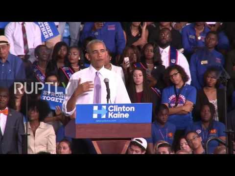 USA: Trump's election rhetoric is 'dangerous' – Obama