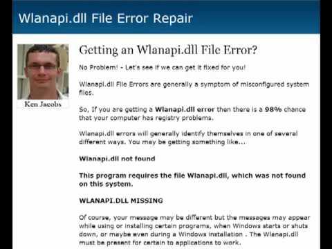 archivo wlanapi.dll windows xp