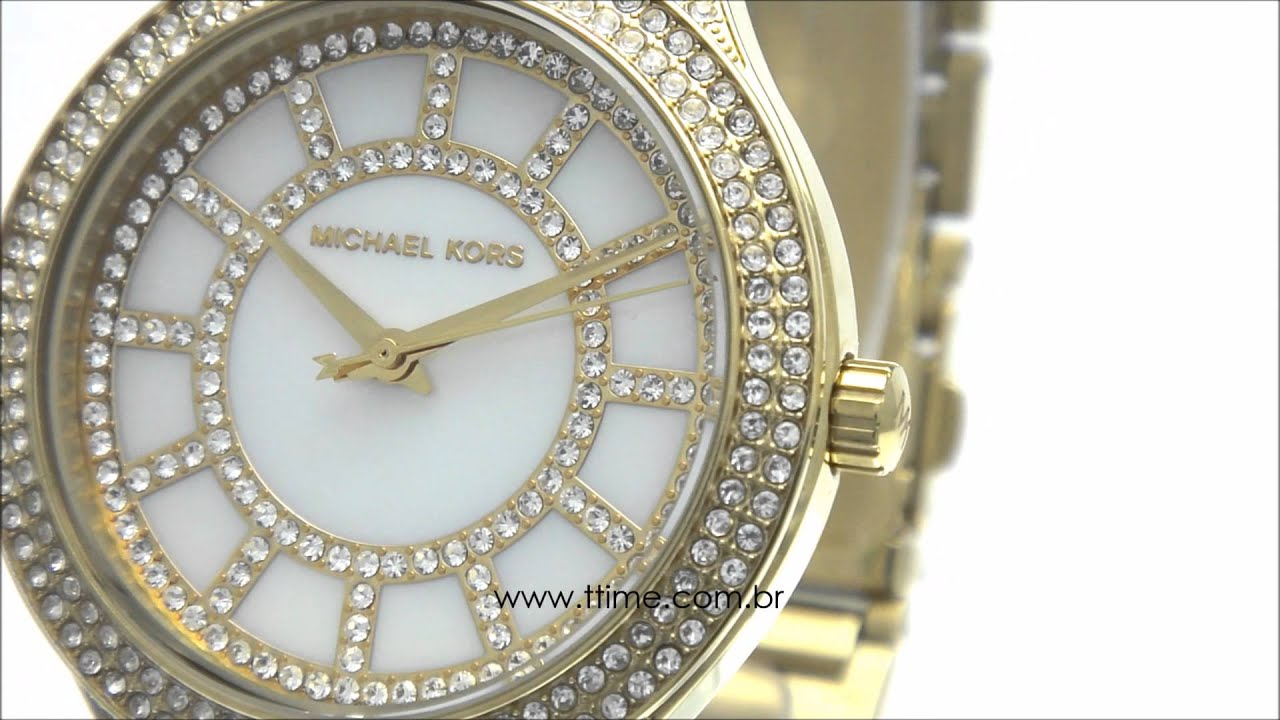 Relógio Michael Kors Ladies  Kerry Watch MK3312 4BN - YouTube b7a9069977