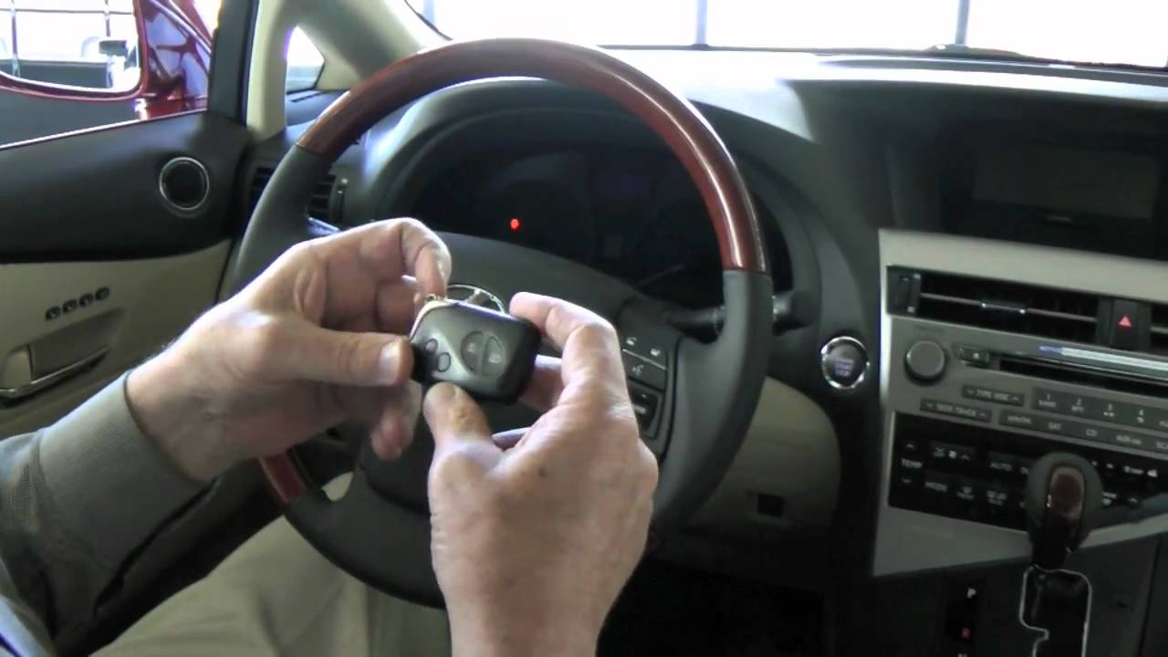 What To Do If Your Lexus Key Fob Battery S