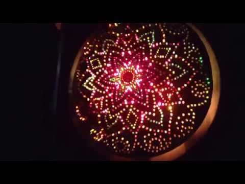 Anhang's ACLS: Amazing Cosmic Light Show. 1 minute