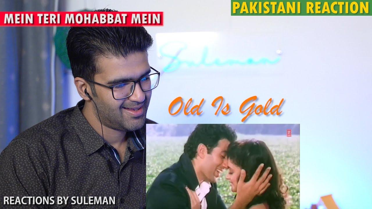 Pakistani Couple Reacts To Mein Teri Mohabbat Mein | Tridev | Sunny Deol | Madhuri | M Aziz | Sadhna
