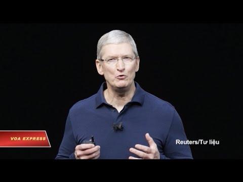 Ông Trump thúc công ty Apple rút khỏi Việt Nam