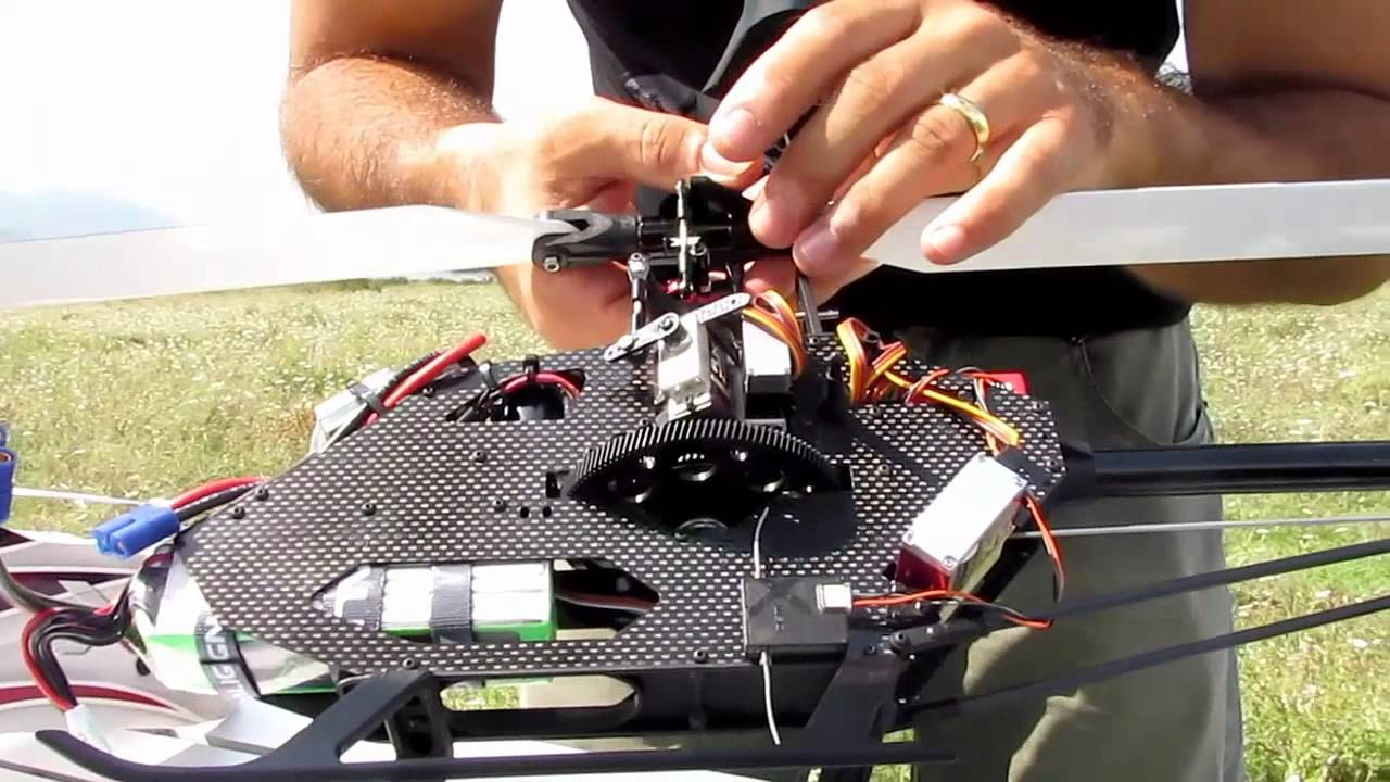 Gaui x3 build video of a crack