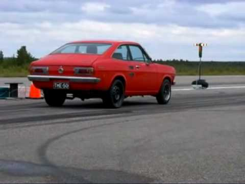 11.92 second Datsun 1200 with A14 turbo