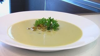 Суп-пюре из зеленого горошка видео рецепт. Книга о вкусной и здоровой пище