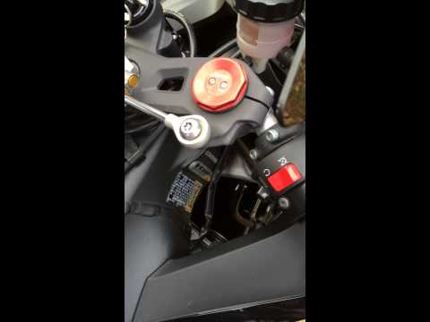 Zx10r Starting Noise
