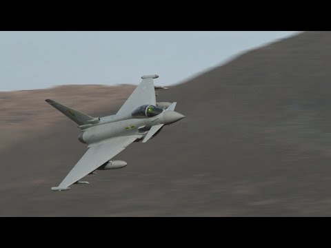 Low flying jets in Wales!