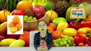 Çocuklar için İngilizce - Meyveler