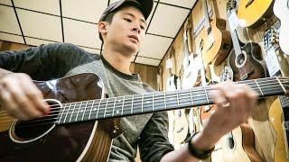 GUITAR STORES ARE FUN! |  | Daily Vlog 24