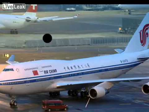 Air China 981 vs JFK ground control